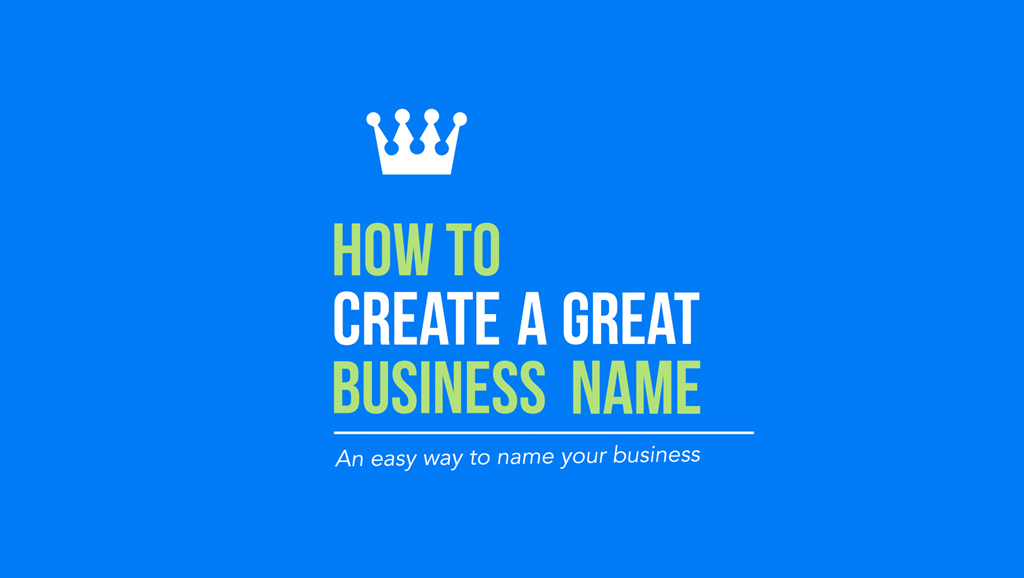 how to create name business